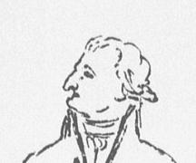 Schadow, Goethe im Gespräch mit Schiller (Ausschnitt)